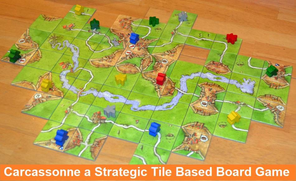 Carcassonne a Strategic Tile Based Board Game