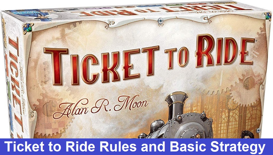 Ticket to Ride Rules and Basic Strategy